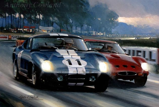 Shelby Cobra (original painting)